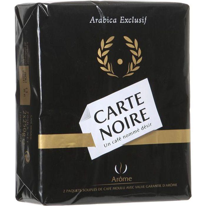 Carte Noire café moulu 2x250g