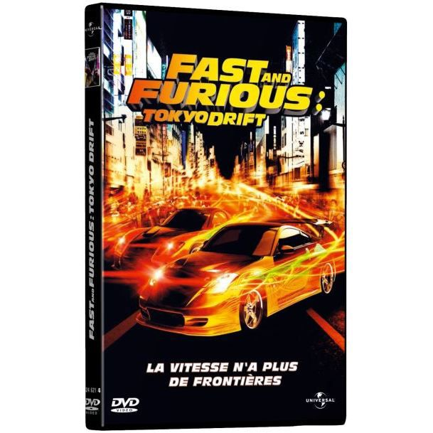dvd fast and furious tokyo drift en dvd film pas cher lin justin cdiscount. Black Bedroom Furniture Sets. Home Design Ideas