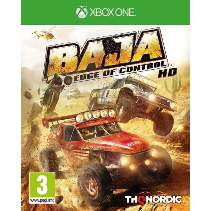 Baja: Edge of Control HD Jeu Xbox One