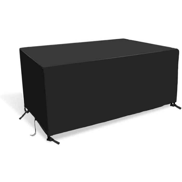 Ranikeer Housse Salon de Jardin, Bâche Table de Protection 420D Oxford Couverture Imperméable Anti-UV Antipoussière pour Salon Canap
