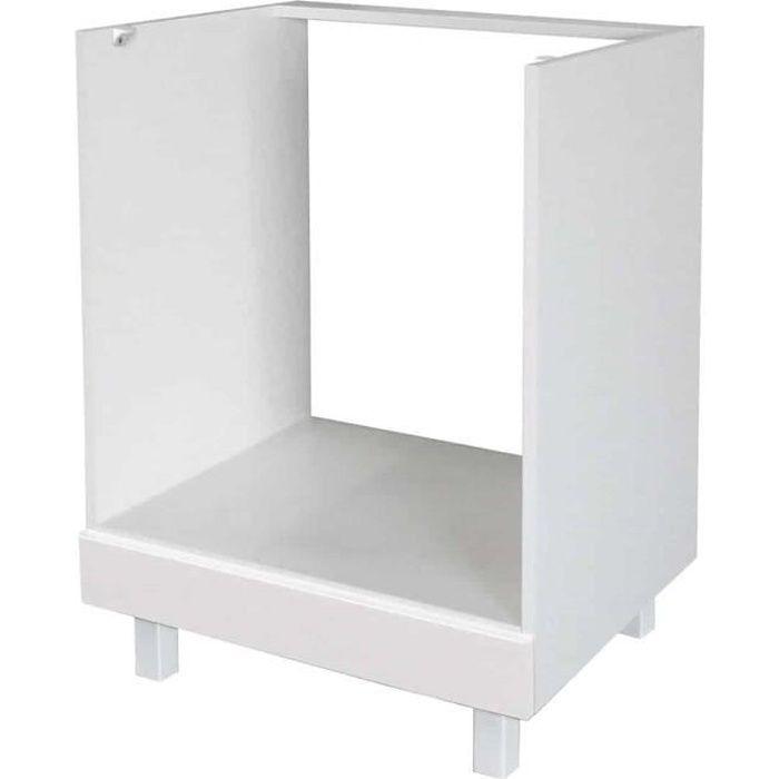 Meuble Four encastrable - 60cm - Blanc