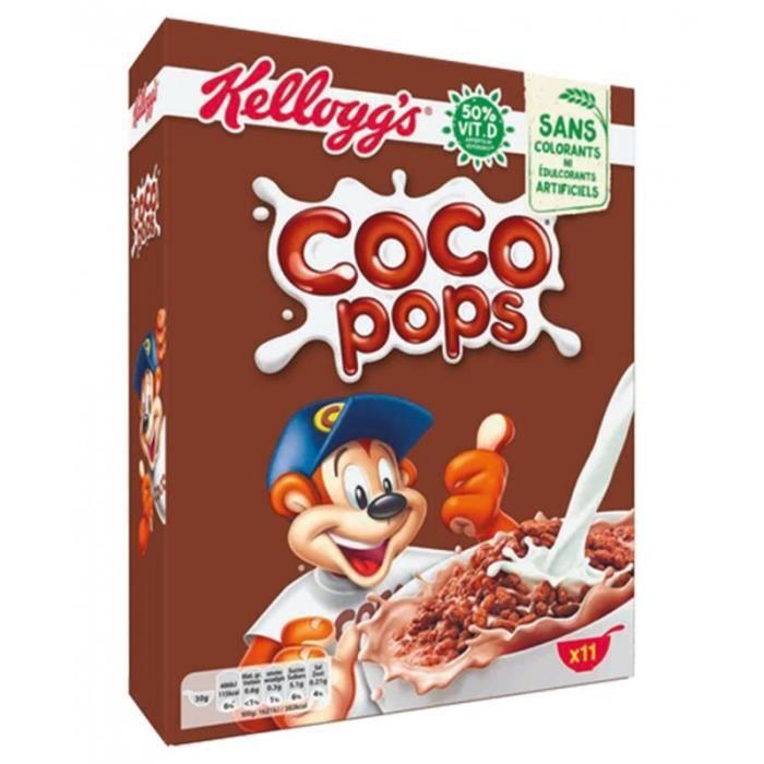 Kellogg's Coco Pops 350g (lot de 3 paquets)