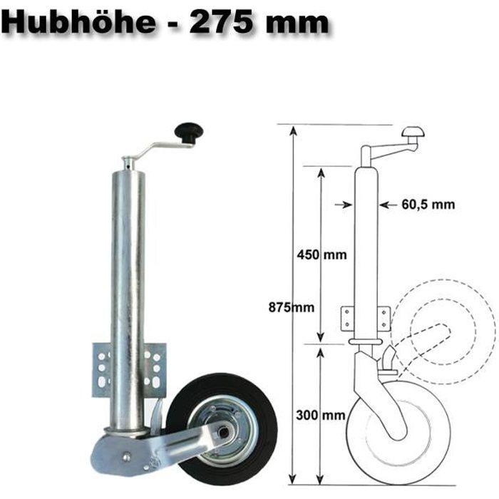 453kg Automatique Roue Jockey de Remorque - 30117