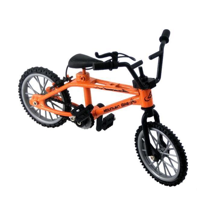 Mini vélo à doigt Miniature parfait, jeu éducatif en métal pour enfants, cadeau de sport pour garçons, soulage la [CE59A9C]