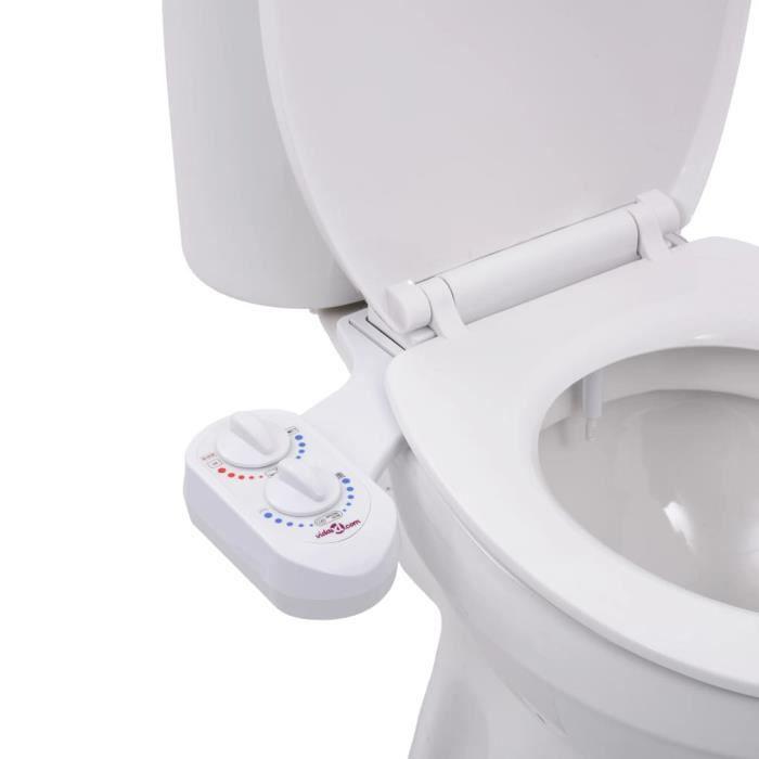Accessoire siège toilette et eau chaude et froide buse unique Super *439547