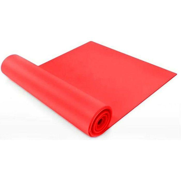 1.5-2m Bandes de résistance Theraband Physio Ballet Pilates Yoga Gymnastique Bandes - 1.5M (Rouge)