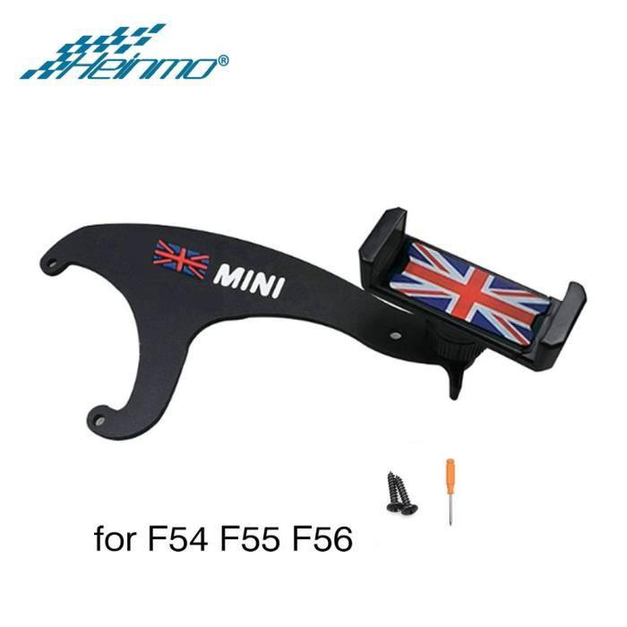 Pour MINI Countryman accessoires R55 R57 R60 R61 support pour téléphone voiture pour MINI Cooper F56 - Type F54 F55 F56 Red Jack