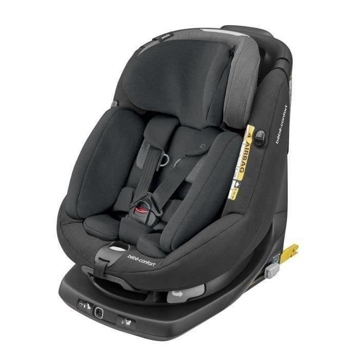BEBE CONFORT Siège auto Axissfix Plus - I-Size Groupe 0+/1 Frequency Black