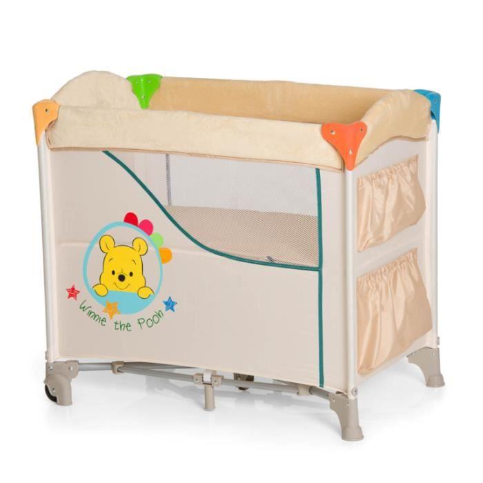 WINNIE Lit Berceau Sleep'N Care 80x44cm - Disney Baby