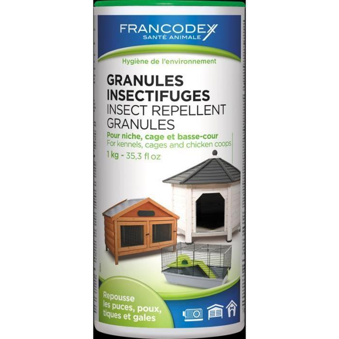 Granulés Insectifuges - Francodex