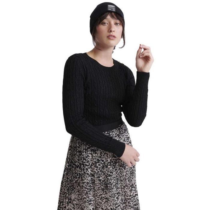 Vêtements femme Chandails Superdry Croyde Cable Knit
