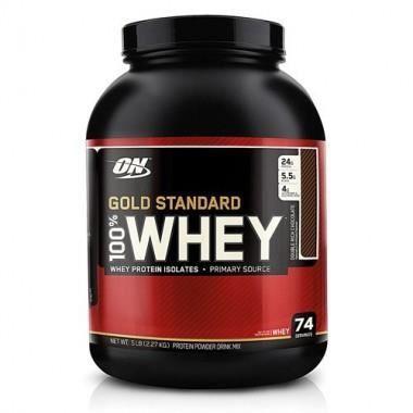 100% Whey Gold Standard 2273g Extreme Milk Choco
