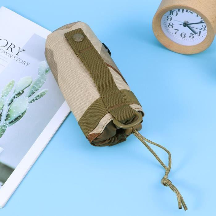 1 pièces pochette de rangement pratique légère de bouteille d'eau pour voyage de randonnée en FILET POUSSETTE - PANIER POUSSETTE