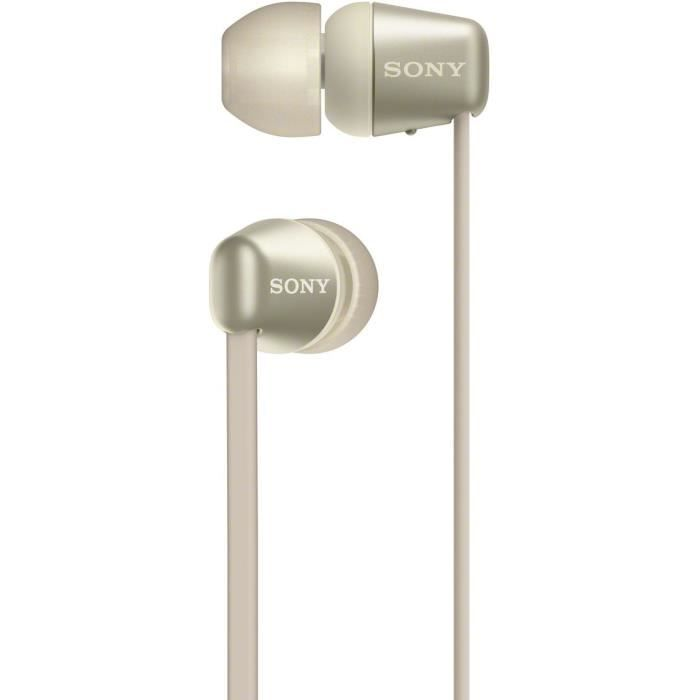 SONY WI-C310 Ecouteurs intra-auriculaires sans fil - Doré