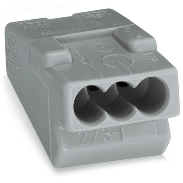 Borne pour boîtes de dérivation 3 pôles32 A Con…