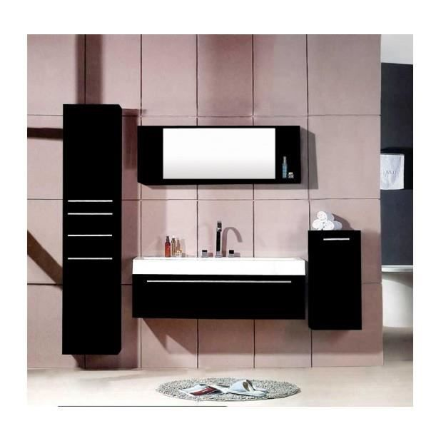 magnifique meuble salle de bain plume wenge ensemble salle de bain 3 meubles 1 vasque 1. Black Bedroom Furniture Sets. Home Design Ideas
