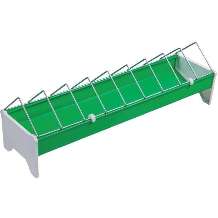 MANGEOIRE - TRÉMIE Mangeoire plastique Chapron Lemenager - Long.50 cm