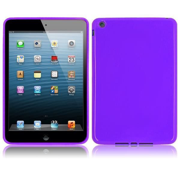 coque protection pr apple ipad mini 1 2 violet prix pas cher cdiscount. Black Bedroom Furniture Sets. Home Design Ideas