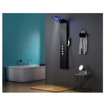 colonne de douche baln o thermostatique leds sol achat. Black Bedroom Furniture Sets. Home Design Ideas