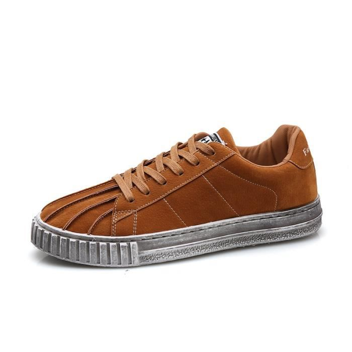 Hommes De Sneakers Casual Toile Sneakers Coquilles Chaussures Chaussures 4d1dA8qx