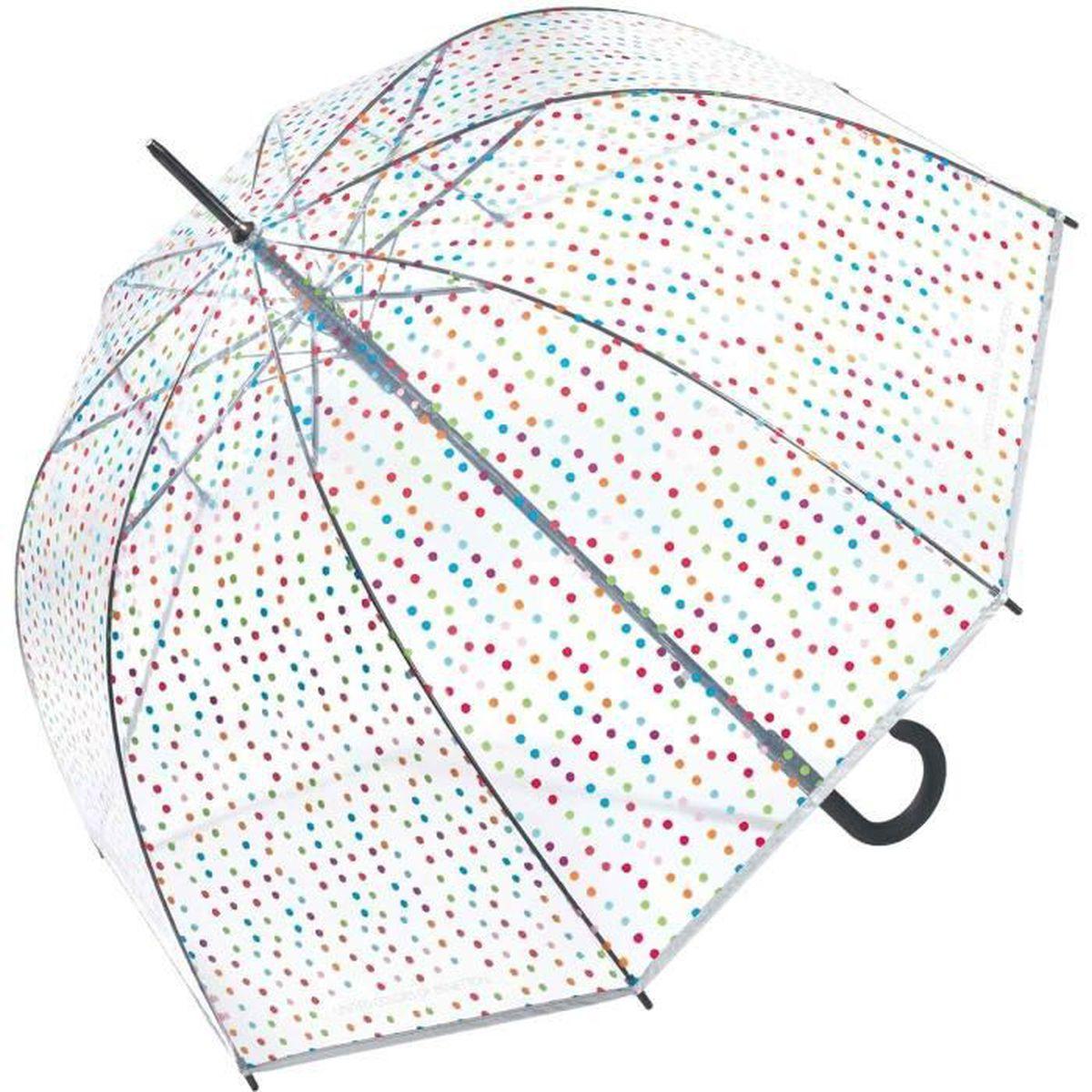 Parapluie cloche transparent pour voir /à travers La Reine des Neiges