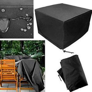 HOUSSE MEUBLE JARDIN  Housse de protection pour salon de jardin table 32