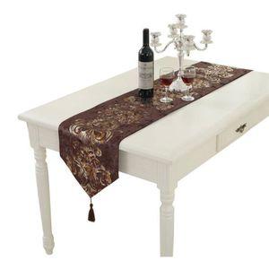 CHEMIN DE TABLE Chemin de Table Nappe Simple Moderne Décorations M
