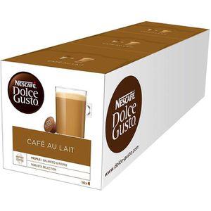 CAFÉ CD-1251NESCAFÉ Dolce Gusto café au lait 48 Les cap