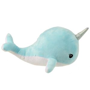 HOUSSE DE COUSSIN Peluche Kawaii Narwhal Coussin