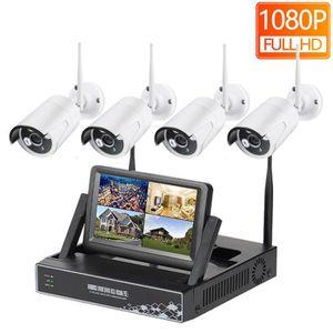 CAMÉRA IP 1 To HDD HD 1080 P 4CH Système de vidéosurveillanc
