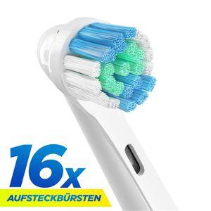 BROSSE A DENTS ÉLEC 16Pcs EB17-4 SB-17A Brosse à Dents électrique de R