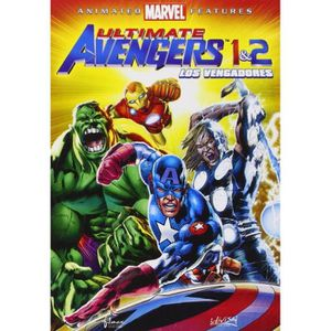 DVD FILM Ultimate Avengers - The Movie + Ultimate Avengers
