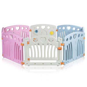 PARC BÉBÉ Baby Vivo Parc Bébé en Plastique 14 Éléments - Dai