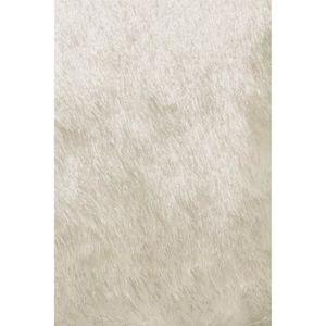 TAPIS benuta Tapis à poils longs Whisper Blanc ø 200 cm