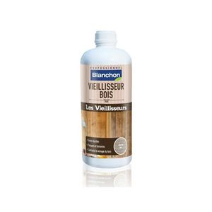 PEINTURE - VERNIS Vieillisseur bois - chêne vielli - 5 litres - Blan