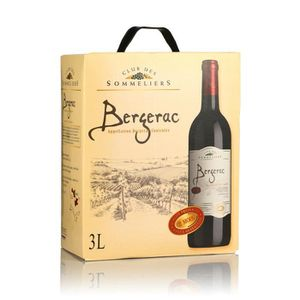 VIN ROUGE Club des Sommeliers Bergerac - Vin rouge du Sud Ou