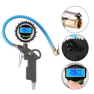 COMPRESSEUR 12V Gonfleur Compresseur Manomètre Pression 0-220psi P