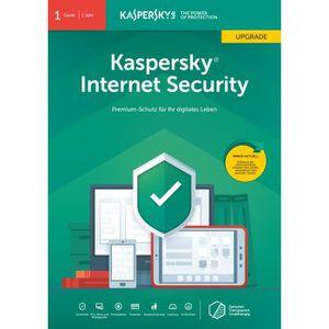 SYSTÈME D'EXPLOITATION Kaspersky Logiciel Internet Security 2019 1 licenc