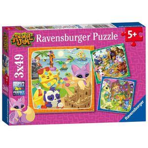 CASSE-TÊTE Ravensburger Ravensburger -  - 3 Puzzles De 49 Piè