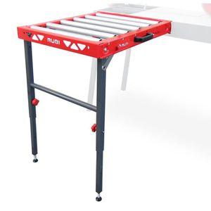 CARRELETTE Supplement table à rouleaux pour coupe carrelage R