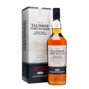 WHISKY BOURBON SCOTCH Whisky Talisker Port Ruighe single malt de l'île d
