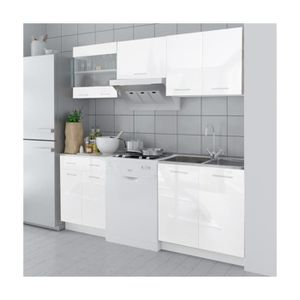 meuble de cuisine blanc achat vente meuble de cuisine blanc pas cher. Black Bedroom Furniture Sets. Home Design Ideas