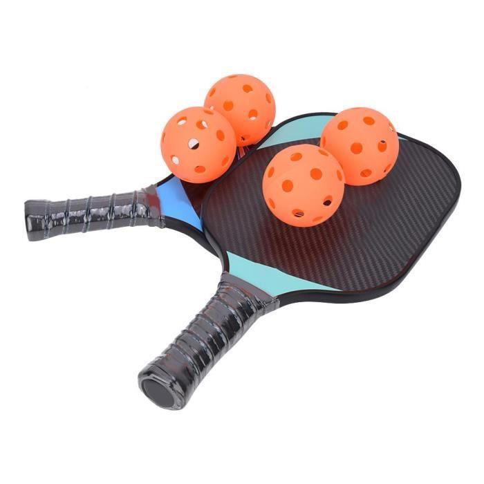 PP Core + 3K Board Aramid Fiber Cellular Pickleball Paddle Racket Set Sports Accessoires