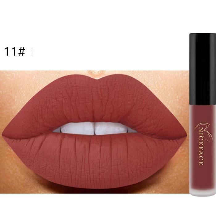 Lip Lingerie Matte Liquid Lipstick Waterproof Lip Gloss Makeup 12 Shades K 3ML WTX70411484K_0169