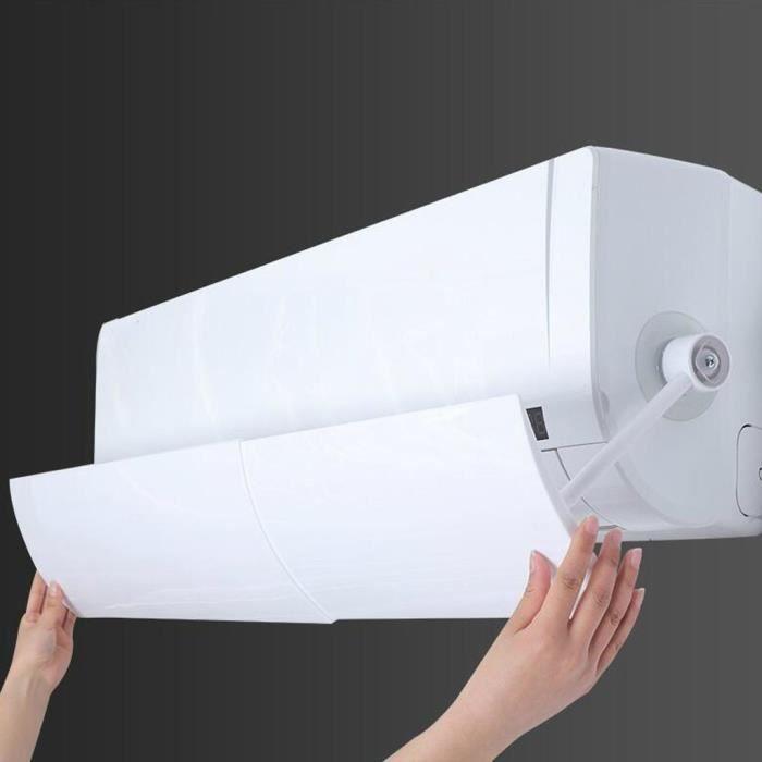 Couverture universelle de déflecteur de vent de climatisation pare-brise anti-soufflage direct FLL90328680_Ion