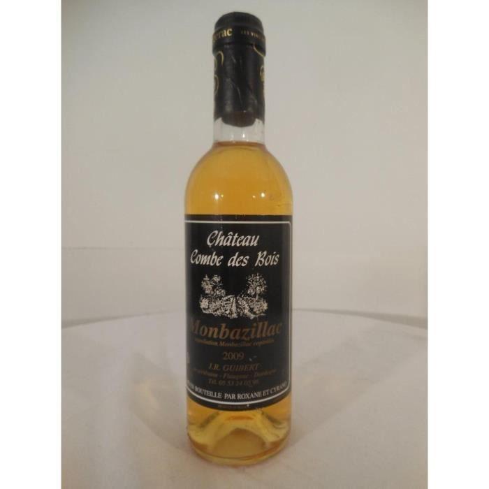 37,5 cl monbazillac château combe des bois liquoreux 2009 - sud-ouest france