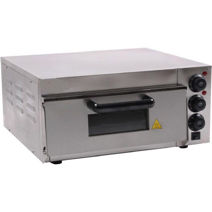 Four à pizza pro inox 220 volt 2000 watts