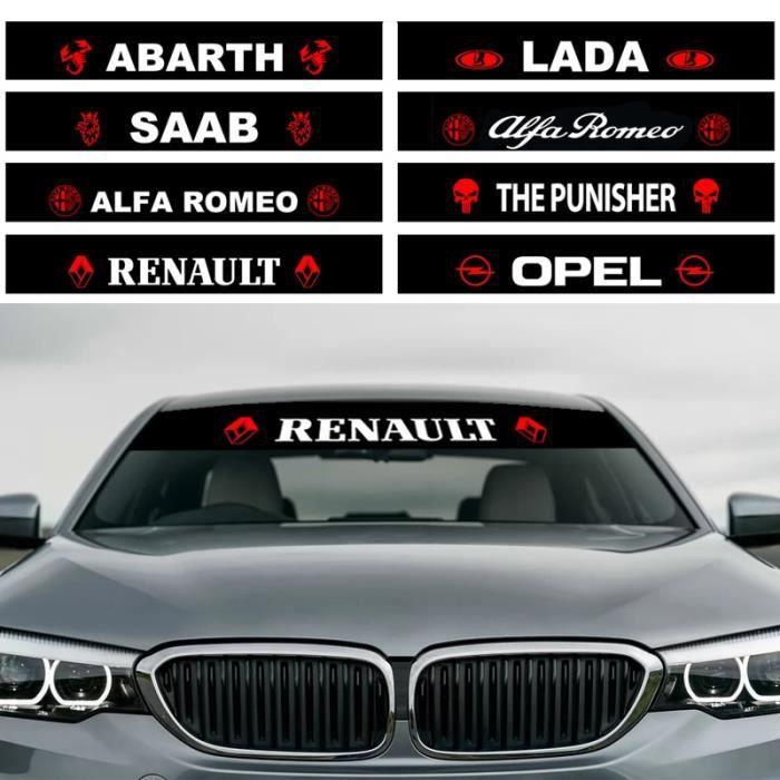 Autocollant de décoration de voiture pour BMW - Autocollants de style de voiture, pare-brise av - Modèle: For Toyota - ANZYBUA01346