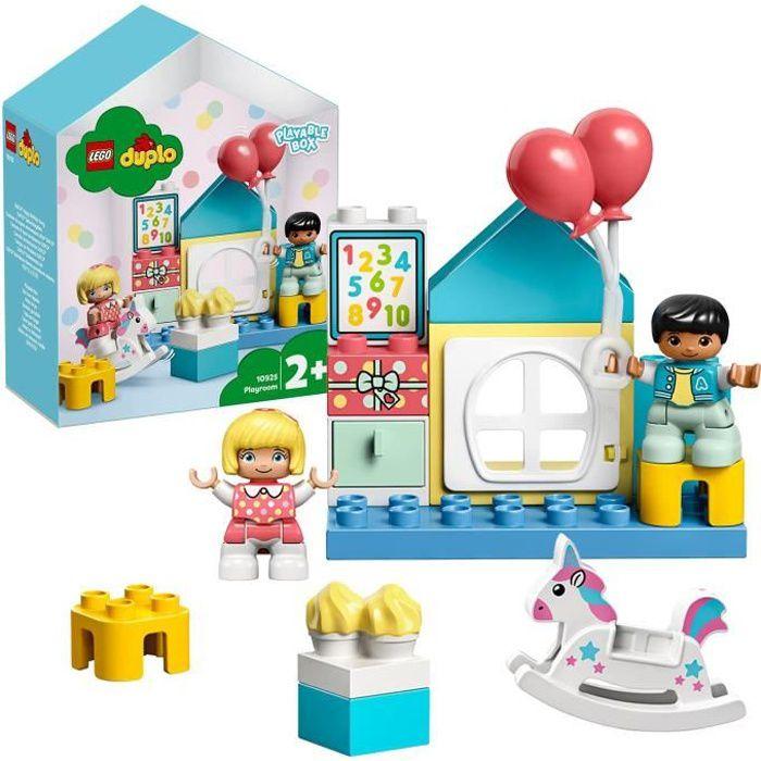 LEGO® 10925 DUPLO Town La Salle De Jeux Boîte de Petite Maison De Poupées, Jouet éducatif Pour Enfants De 2 Ans Et +