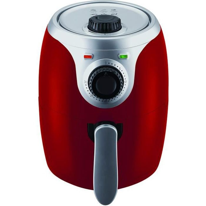 Master Airfryer Friteuse 2 litres Rouge